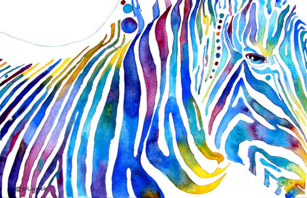 Painting - Zebra Stripes by Jo Lynch