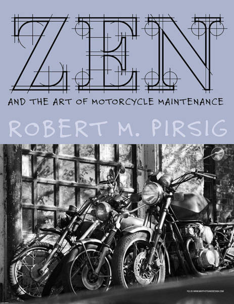 Photograph - Zen And The Art Of Motorcycle Maintenance by Keith May
