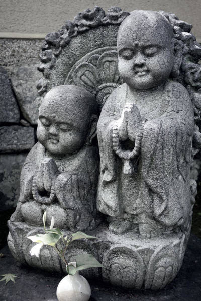 Wall Art - Photograph - Zen Buddhas - Kyoto by Daniel Hagerman