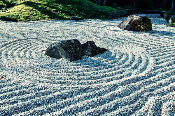 Photograph - Zen Garden by U Schade