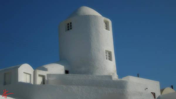Photograph - Zen Meditation Santorini Island Greece by Colette V Hera  Guggenheim