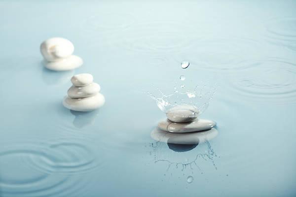 Wall Art - Photograph - Zen Rain Nr. 2 by Floriana Barbu