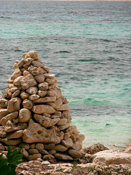 Photograph - Zen Rocks In Paradise by Kimberly Perry