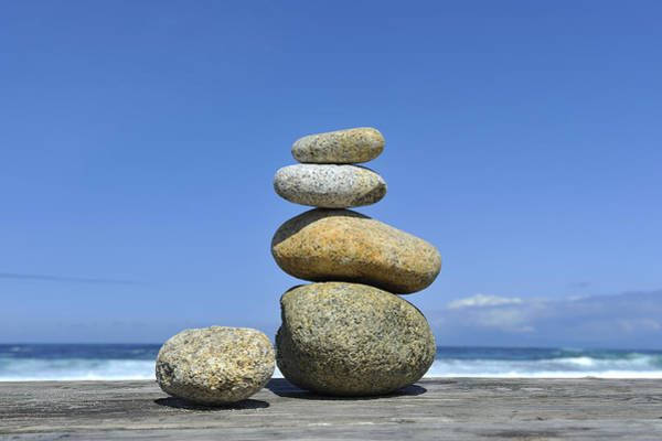 Wall Art - Photograph - Zen Stones I by Marianne Campolongo