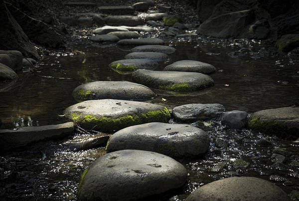 Photograph - Zen Stones Japan by For Ninety One Days