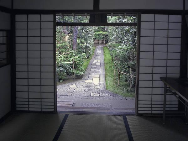 Kansai Wall Art - Photograph - Zen Tea House Dream by Daniel Hagerman