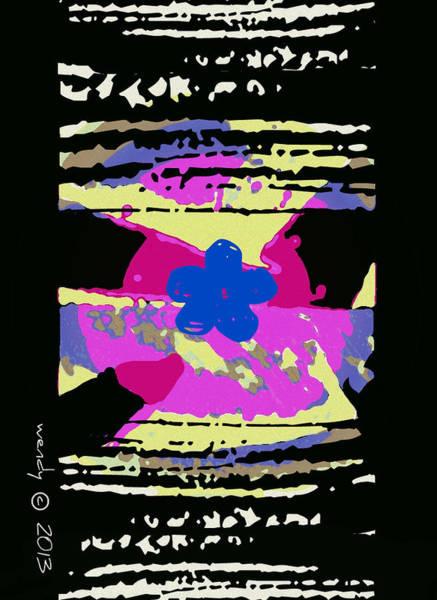 Wiese Digital Art - Zen Wahine by Wendy Wiese