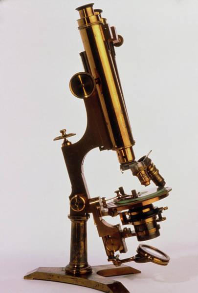 Microscope Wall Art - Photograph - Zent Mayer Light Microscope by John Greim/science Photo Library