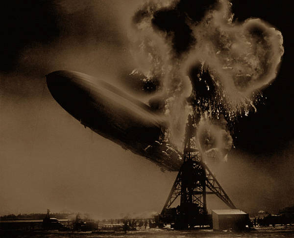 Photograph - Zeppelin 1 by Andrew Fare