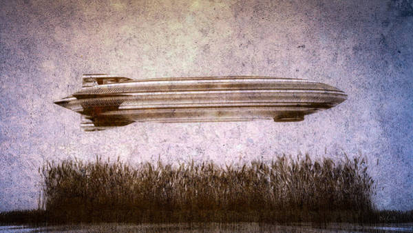 Digital Art - Zeppelin  by Bob Orsillo