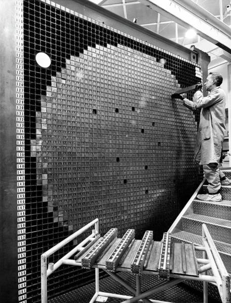 Power Station Wall Art - Photograph - Zero Power Plutonium Reactor by Argonne National Laboratory, Courtesy Emilio Segre Visual Archives, Physics Today Collection/american Institute Of Physics