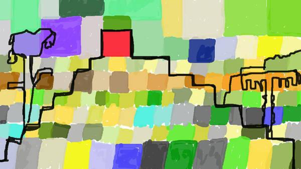 Digital Art - Ziggurat by Paul Sutcliffe