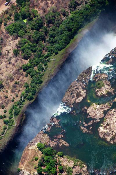 Chasm Photograph - Zimbabwe, Victoria Falls by Kymri Wilt