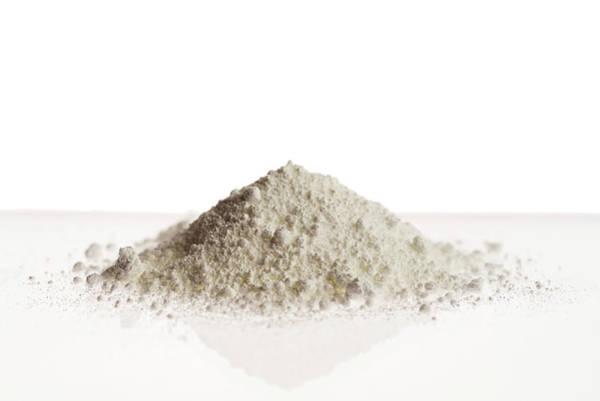 Compound Photograph - Zinc Oxide Powder by Daniel Sambraus