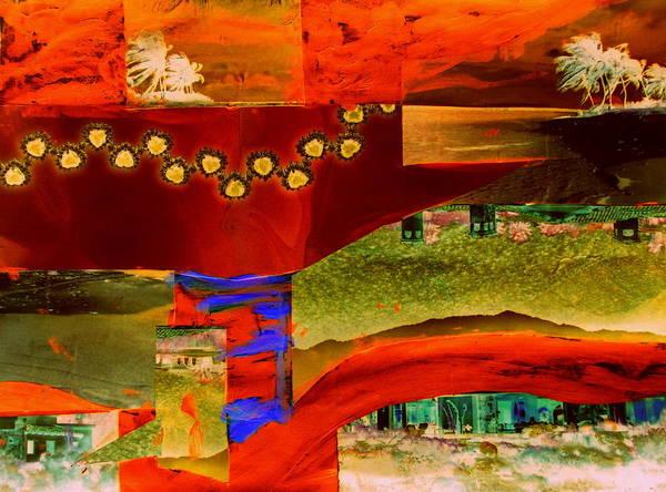 Desert Landscape Mixed Media - Zine Seen by Randall Weidner