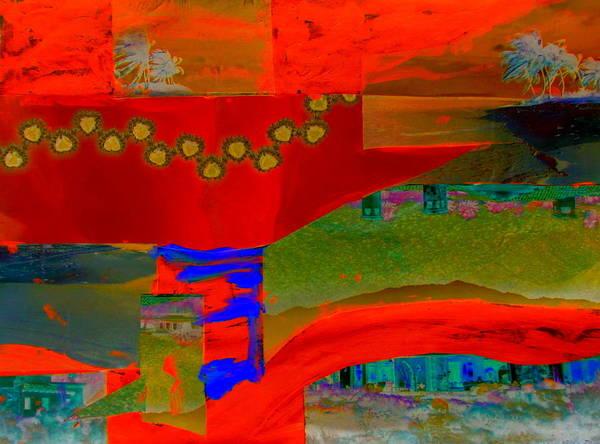 Desert Landscape Mixed Media - Zine Seen Three by Randall Weidner