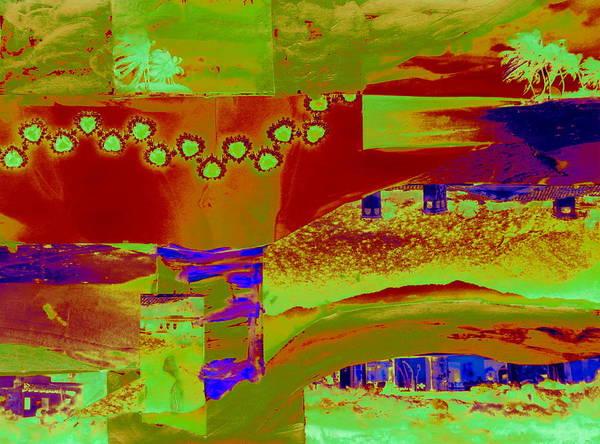 Desert Landscape Mixed Media - Zine Seen Two by Randall Weidner
