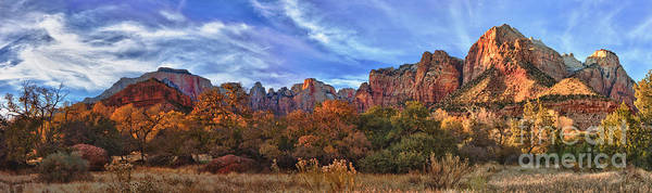 Photograph - Zion Canyon by Beth Sargent