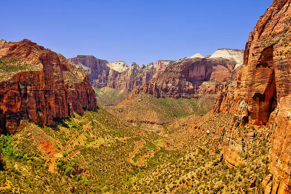 Photograph - Zion Canyon by Greg Norrell