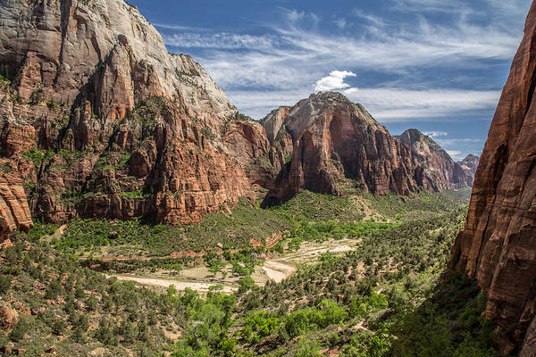 Photograph - Zion National Park From Angel's Landing by Pierre Leclerc Photography
