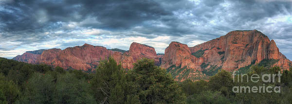 Photograph - Zion National Park Panorama by Eddie Yerkish