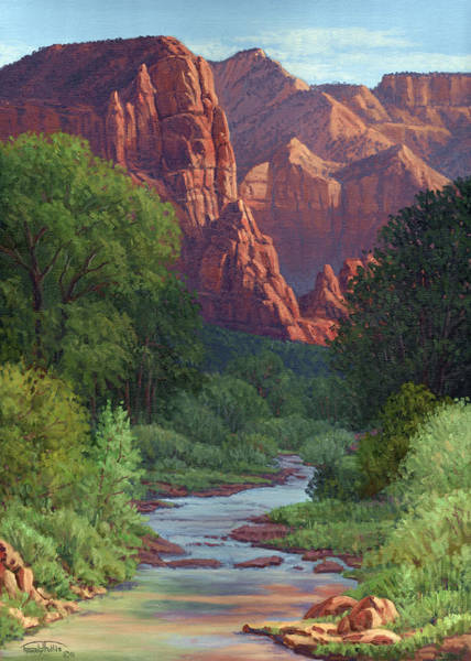 Zion Painting - Zion by Randy Follis