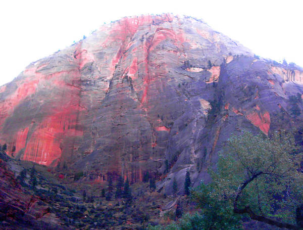 Photograph - Zion Rocky Mountain Filtered by Duane McCullough