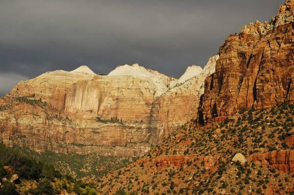 Photograph - Zion Sunrise 3 by Lee Kirchhevel