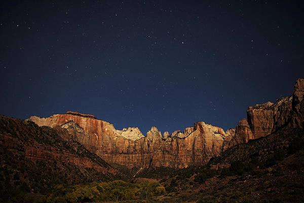 Wall Art - Photograph - Zion Under The Stars by Andrew Soundarajan