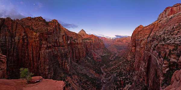 Wall Art - Photograph - Zion's Twilight by Chad Dutson