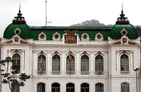 Photograph - Zipaquira City Hall by John Rizzuto