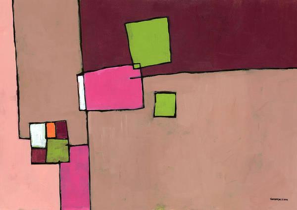 Wall Art - Painting - Zipless by Douglas Simonson