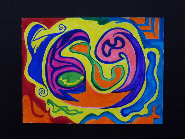Groovy Mixed Media - Zodiac #69 by James Welch