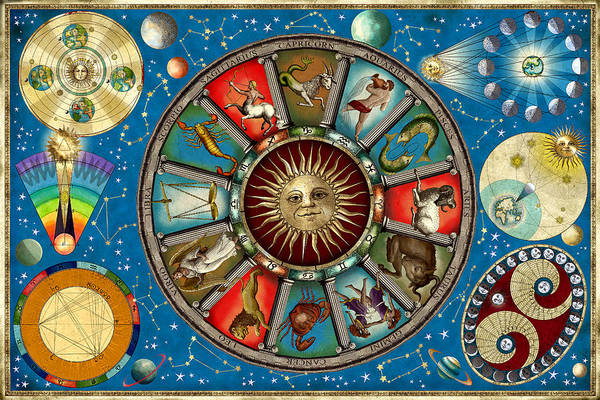Wall Art - Photograph - Zodiac Colour by MGL Meiklejohn Graphics Licensing