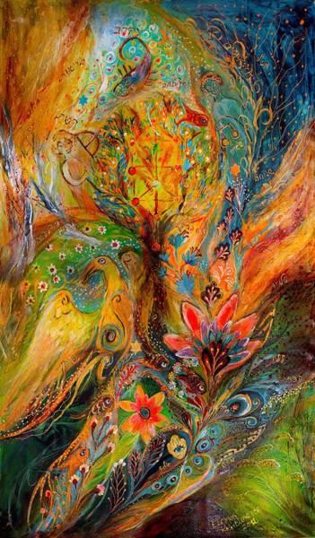 Wall Art - Painting - Zodiac Project Libra Scorpio Sagittarius by Elena Kotliarker