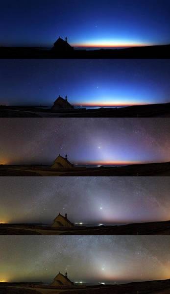Chapelle Photograph - Zodiacal Light by Laurent Laveder