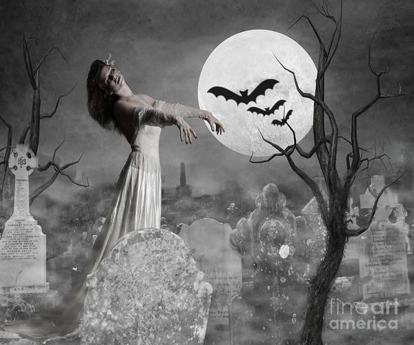 Wall Art - Photograph - Zombie Bride by Juli Scalzi