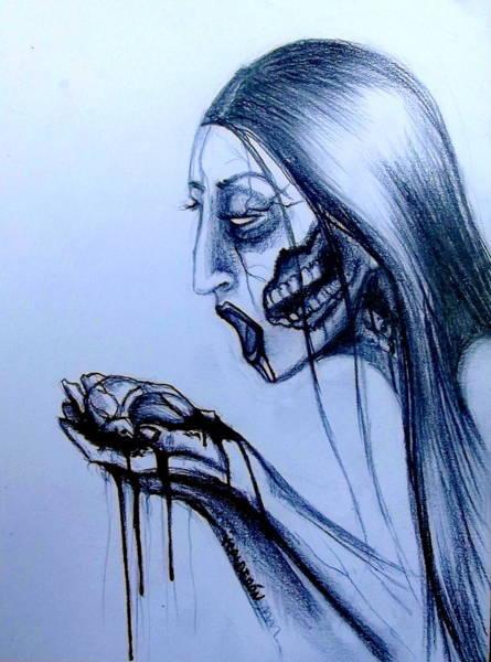 Zombie Apocalypse Drawings Fine Art America