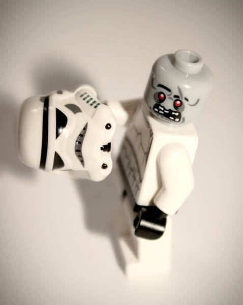 Stormtrooper Wall Art - Photograph - Zombie Stormtrooper by Martin Newman