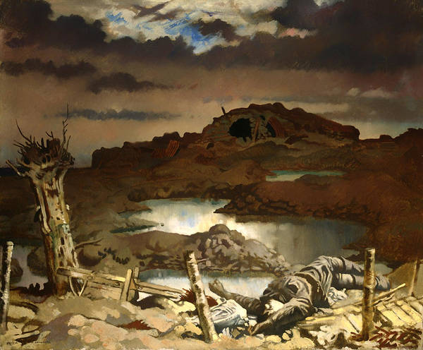 I Dream Painting - Zonnebeke by Mountain Dreams