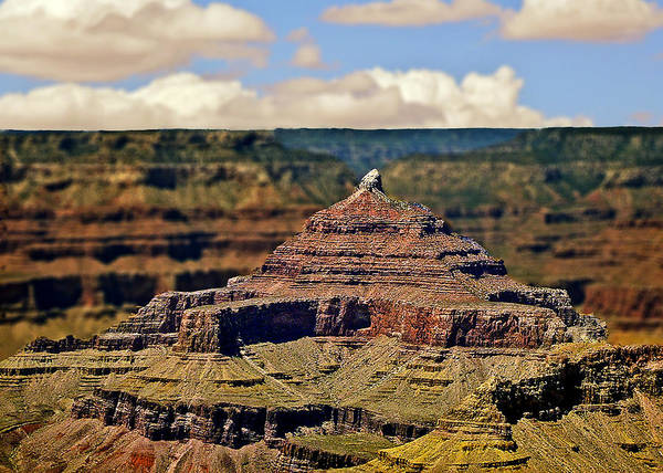Photograph - Zoroaster Temple Grand Canyon by Bob and Nadine Johnston