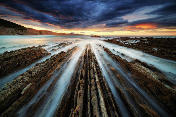 Wall Art - Photograph - Zumaia Flysch by Juan Pablo De