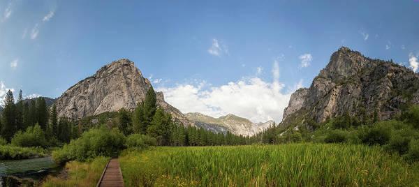 Kings Canyon Photograph - Zumwalt Meadow Panorama by H Matthew Howarth [flatworldsedge]