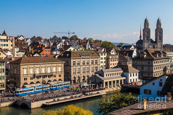 Zuerich Wall Art - Photograph - Zurich 06 by Tom Uhlenberg