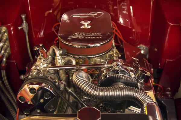 Digital Art - Zz4 350 Small Block Chevy Motor by Chris Flees