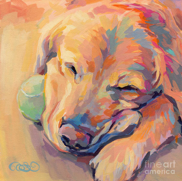 Commission Wall Art - Painting - Zzzzzz by Kimberly Santini