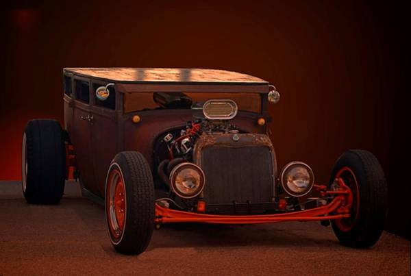 Photograph -  1925 Dodge Sedan Rat Rod by Tim McCullough