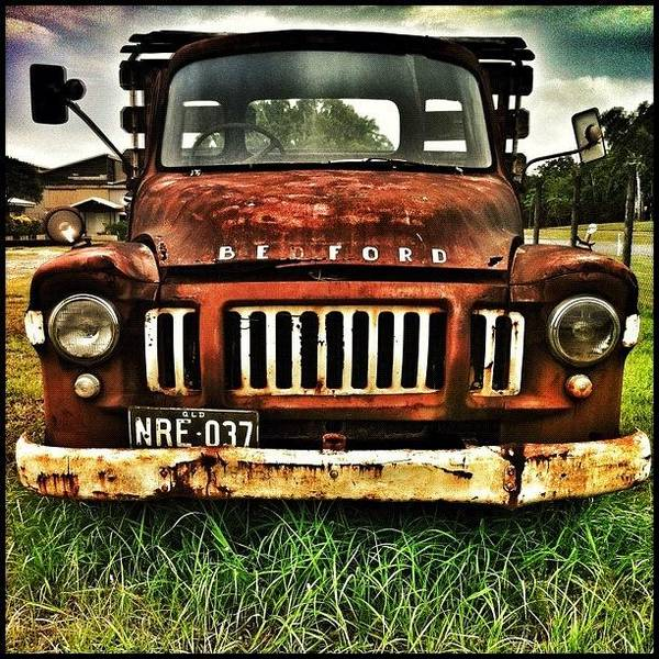 Vehicle Photograph - ... A Be Ford Truck (or Lorry Where I by Brian Cassey