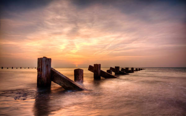 Barmouth Photograph -  Abermaw Sunset by Beverly Cash