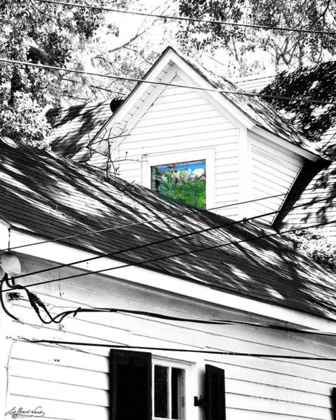 Baton Rouge Digital Art -  Beauregard Attic Baton Rouge by Lizi Beard-Ward
